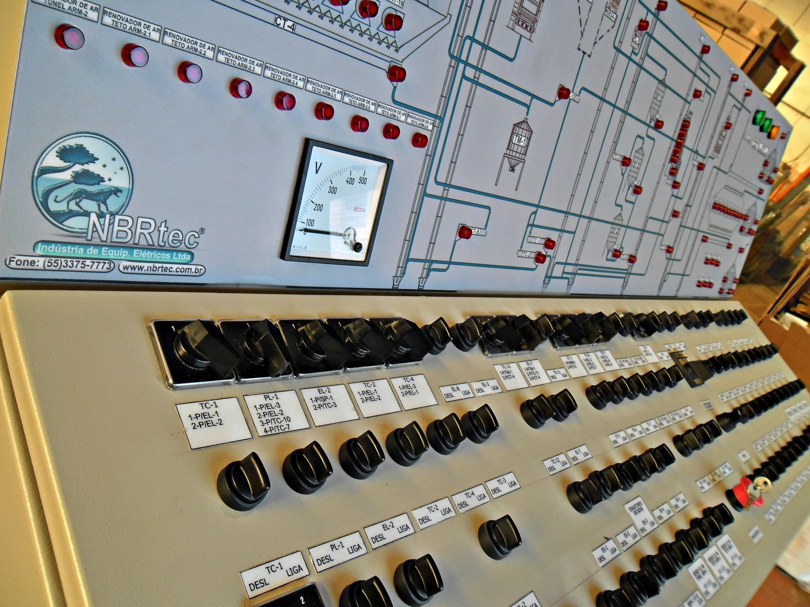 Instalações elétricas de baixa tensão - Painéis / Comandos / Força